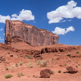 Monument Valley Navajo Tribal Park. Red rocks at the Monument Valley Navajo Tribal Park Royalty Free Stock Photography