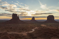 Monument Valley Navajo Tribal Park Stock Images