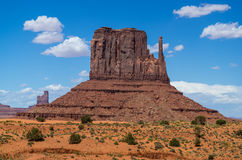 Monument Valley Navajo Tribal Park. Rocks and colors at the Monument Valley Navajo Tribal Park Stock Photography
