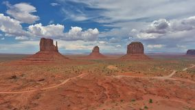 Monument Valley Navajo Tribal Park, time lapse. stock footage
