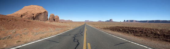 Monument Valley, Navajo Tribal Park, USA stock photo