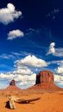 Monument Valley Navajo Tribal Park in Utah. USA Stock Photography
