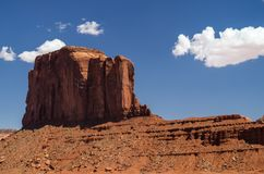 Monument Valley Navajo Tribal Park. View at the Monument Valley Tribal Park Stock Photo