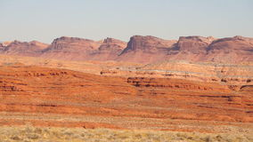 Monument Valley Near Red Mesa Utah Route 163 stock footage