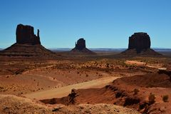 Monument Valley2 Royalty Free Stock Images