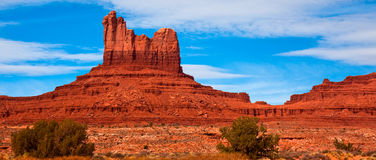 Monument Valley Panorama Royalty Free Stock Image