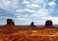 Monument Valley - Panorama Royalty Free Stock Photography