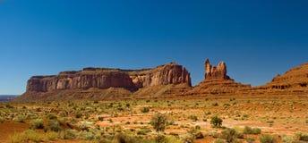 Monument Valley Panorama, Arizona Stock Photos