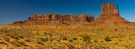 Monument Valley Panorama, Arizona Royalty Free Stock Photos