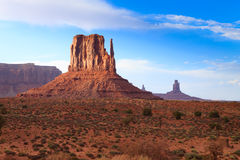 Monument Valley panorama, Arizona USA Stock Image