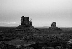 Monument Valley. Panorama of Momunent Valley, Arizona, USA Stock Photo