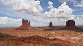 Monument Valley Panorama stock footage