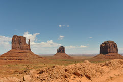 Monument Valley panorama, Utah Stock Photography