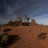Monument Valley panorama Stock Image
