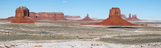 Monument Valley panorama Royalty Free Stock Photography