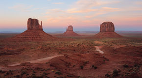 Monument Valley Panoramic View royalty free stock photo