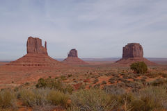 Monument Valley Park Royalty Free Stock Photography