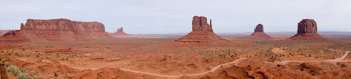 Monument Valley Park Stock Photography