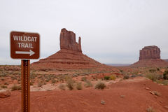 Monument Valley Park Royalty Free Stock Image