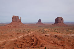 Monument Valley Park Royalty Free Stock Images