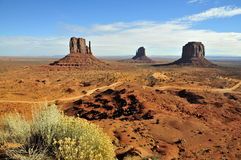 Monument Valley; partial overview Stock Image