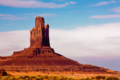 Monument Valley Pinnacle Stock Photography