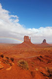 Monument Valley  after rain Royalty Free Stock Image