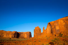 Monument Valley Rain God Mesa Utah Royalty Free Stock Image