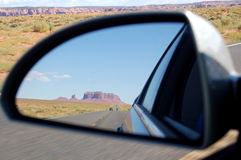 Monument Valley reflection Stock Photo