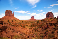 Buttes at Monument Valley Royalty Free Stock Images