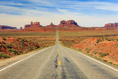 Monument Valley road Stock Photography