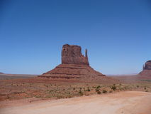 Monument valley rock Stock Images