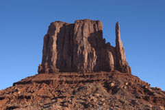 Monument Valley Rock Formation Closeup Stock Photo