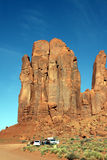 Monument valley rocks Royalty Free Stock Photography