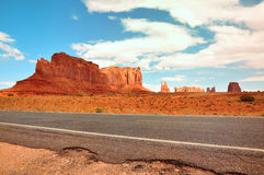 Monument Valley Route 163 Stock Photography