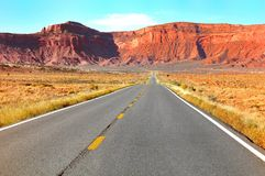 Monument Valley Route 163 Stock Images