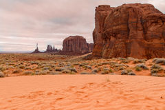 Monument Valley Rugged Landscape Stock Photos