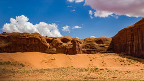 Monument Valley Sand Dunes Stock Photo