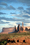 Monument Valley scene Stock Images