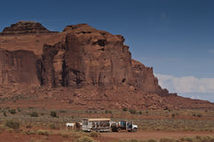 Monument valley scenery Royalty Free Stock Photo