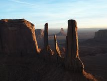 Monument Valley scenic Stock Images