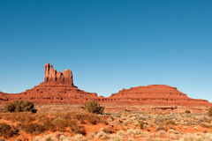 Monument Valley scenic Royalty Free Stock Photos