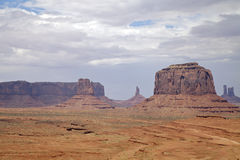 Monument Valley Scenic Landscape Royalty Free Stock Photography