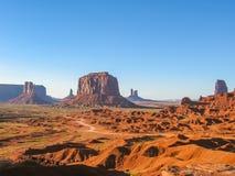 Monument Valley Scenic Landscape Stock Photos