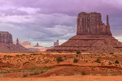 Monument Valley Scenic Landscape Royalty Free Stock Images