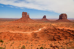 Monument Valley Scenic Landscape Royalty Free Stock Photo