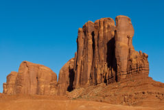Monument Valley. Scenic view of butte rock formations in Monument Valley, Utah, U.S.A Royalty Free Stock Image