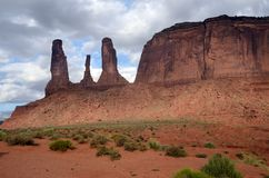 Monument valley landscape, USA Royalty Free Stock Photo