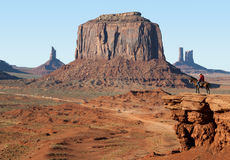 Monument Valley in The Southwest of the USA Stock Photo