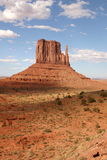Monument Valley Spire. Monument Valley in the summer of 2003 royalty free stock photography